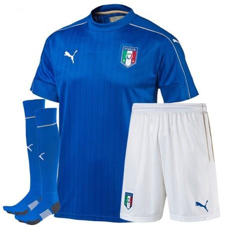 Kit Completo Home Italia maglia + pantaloncini + calzettoni 2016