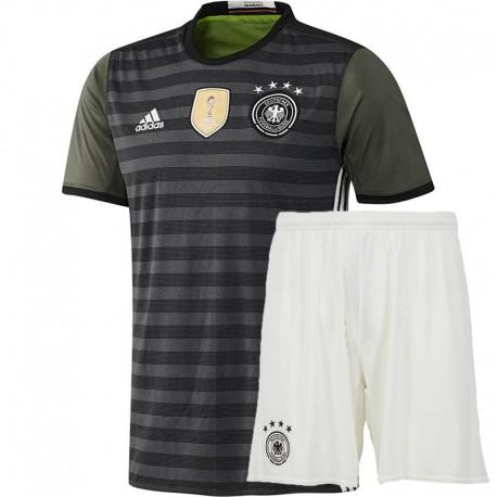 Kit Trasferta/Away Germania maglia+pantaloncini EURO 2016