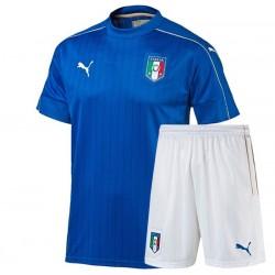 Kit Home maglia+pantaloncini Italia EURO 2016