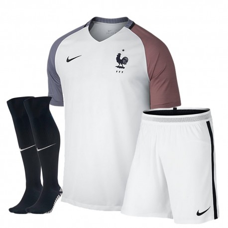 Kit completo trasferta/away Francia EURO 2016