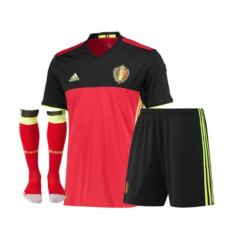 Kit completo Belgio home EURO 2016