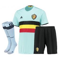 Kit completo trasferta/away Belgio EURO 2016