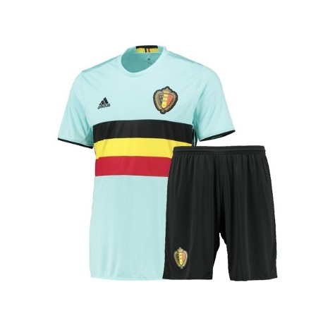 Kit Belgio trasferta maglia+pantaloncini EURO 2016