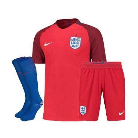 Kit completo Inghilterra trasferta/away EURO 2016