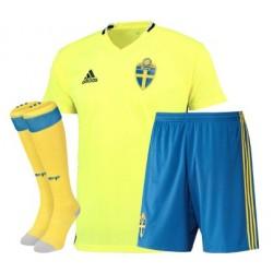 Kit completo Svezia home EURO 2016
