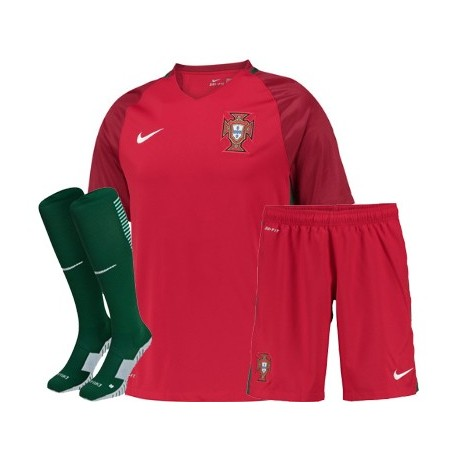 Kit Completo Portogallo Home EURO 2016