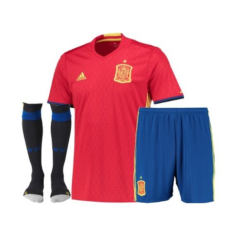 Kit completo Spagna Home EURO 2016