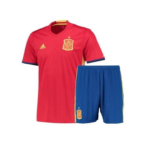 Kit Home Spagna maglia+pantaloncini EURO 2016