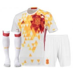 Kit completo trasferta/away Spagna EURO 2016