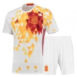 Kit Spagna trasferta maglia+pantaloncini EURO 2016