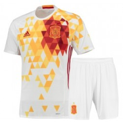 Kit Bambino Spagna trasferta maglia+pantaloncini EURO 2016