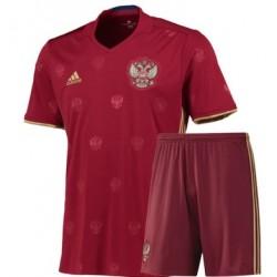 Kit home Russia maglia+pantaloncini EURO 2016