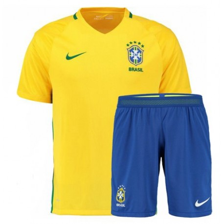 Kit Brasile Home maglia+pantaloncini 2016
