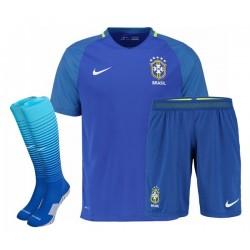 Kit completo Trasferta/Away Brasile 2016