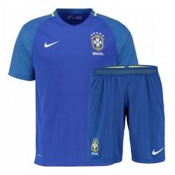 Kit trasferta/Away Brasile maglia+pantaloncini COPA AMERICA 2016