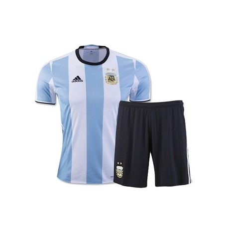 Kit Home Argentina maglia+pantaloncini COPA AMERICA 2016