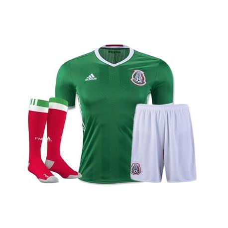 Kit completo Messico Home COPA AMERICA 2016