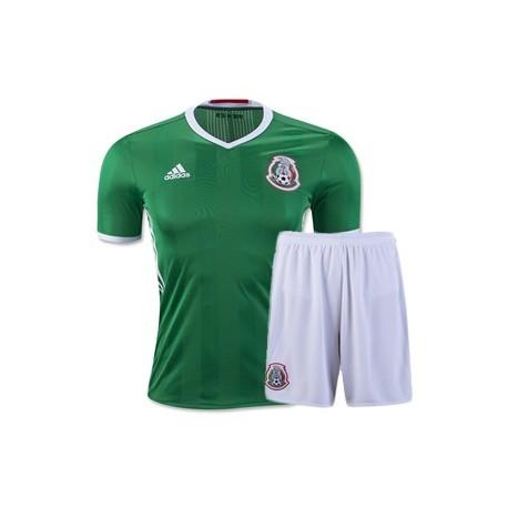 Kit Home Messico maglia+pantaloncini COPA AMERICA 2016