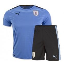 Kit home Uruguay maglia+pantaloncini COPA AMERICA 2016