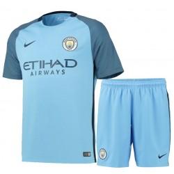 Kit Home Manchester City 2016/17 maglia+pantaloncini