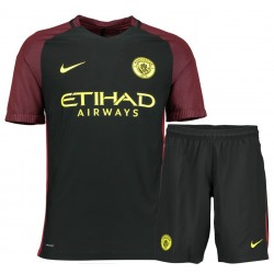 Kit Trasferta/Away Manchester City 2016/17 maglia+pantaloncini