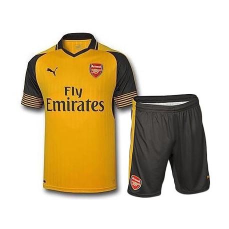Kit Away Arsenal 2016/17 maglia+pantaloncini