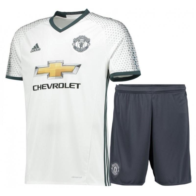 terzo kit manchester united 2016 17 maglia pantaloncini prince shop