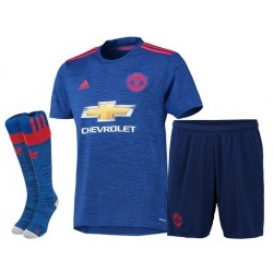 Kit Bambino Trasferta/Away Manchester United 2016/17 maglia+pantaloncini