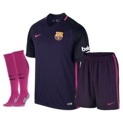Kit Trasferta/Away Barcellona 2016/17 maglia+pantaloncini