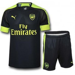 Kit Third Arsenal 2016/17 maglia+pantaloncini