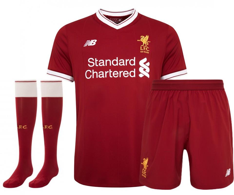 completo calcio Liverpool nuove