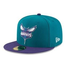 Cappello Charlotte Hornets New Era 59 FIFTY Fitted Cap