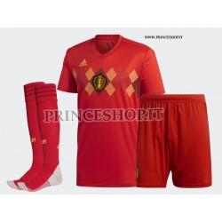 Completo Home Belgio maglia+pantaloncini+calzettoni RUSSIA 2018