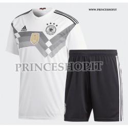 Kit Home Germania maglia+pantaloncini RUSSIA 2018