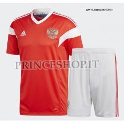 Kit Home Russia 2018 maglia+pantaloncini