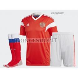 Completo Home Russia 2018 maglia+pantaloncini+calzettoni