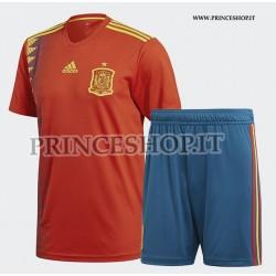Kit Home Spagna maglia+pantaloncini RUSSIA 2018