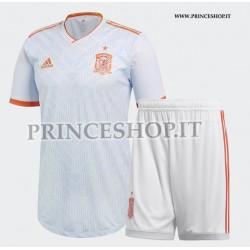 Kit Away/Trasferta Spagna maglia+pantaloncini RUSSIA 2018