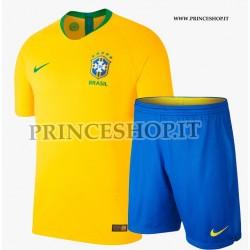 Kit Home Brasile maglia+pantaloncini RUSSIA 2018