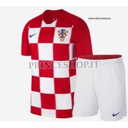 Kit Home Croazia maglia+pantaloncini RUSSIA 2018