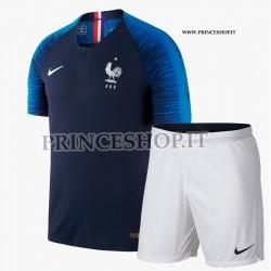 Kit Home Francia maglia+pantaloncini RUSSIA 2018