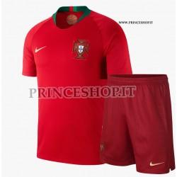 Kit Home Portogallo maglia+pantaloncini RUSSIA 2018