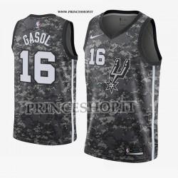 Maglia NBA SA Spurs di Paul GASOL [ City Edition]