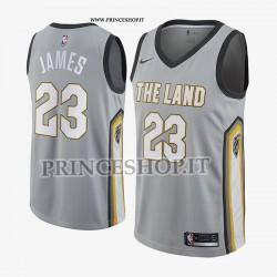 Maglia NBA Cleveland CAVALIERS di Lebron JAMES [City Edition Swingman]