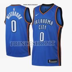 Maglia NBA OK Thunder di WESTBROOK[ City Edition]