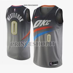 Maglia NBA OK Thunder di WESTBROOK[ Swingman Edition]