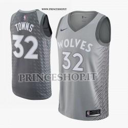 Maglia NBA MIN Timberwolves di TOWNS[ City Edition]