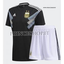 Kit Away/Trasferta Argentina maglia+pantaloncini RUSSIA 2018