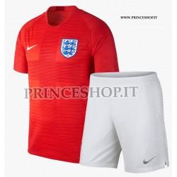 Kit Away/Trasferta Inghilterra maglia+pantaloncini RUSSIA 2018