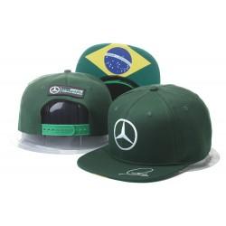 Cappellino Mercedes AMG Petronas - Lewis Hamilton Flatbrim Cap 009